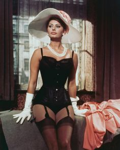 Sophia Loren's Style Evolution: Yesterday, Today and Tomorrow - -Wmag