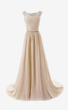Vestido longo champagne - transpassado e drapeado - Madrinha- Bridesmaid Dress