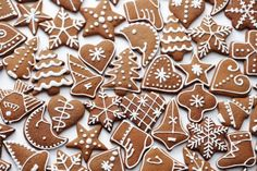 Photo about Homemade various gingerbreads - sweet food. Image of homemade, various, symbol - 22039268 Gingerbread Decorations, Gingerbread Man, Gingerbread Cookies, Christmas Desserts, Christmas Cookies, Christmas Biscuits, Royal Icing Cookies, Scandinavian Christmas, White Christmas
