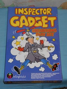 vintage INSPECTOR GADGET COLORFORMS MIB MISB sealed free ship