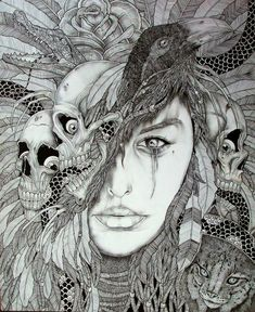 mother nature drawings - Google Search