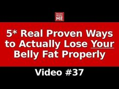 How to Lose Lower Belly Fat Fast (5* Real Proven Ways to Actually Lose Your Weight Properly) - YouTube