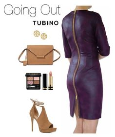 Going out with burgundy by tubino-skirts-dresses on Polyvore featuring mode, ALDO, DKNY, Tory Burch and Gucci