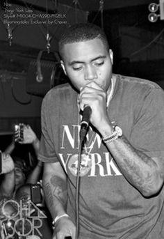 "Rap Artist Nas in our Bloomingdales exclusive ""New York Lips""     #newyork #nas #chaser #rap"