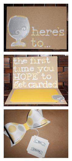 85 Best 21st Birthday Card Inspiration Images On Pinterest 21