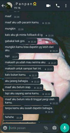 Quotes Rindu, Relationship Goals Text, Boyfriends, Haha, Texts, Kawaii, Couple, Humor, Wallpaper