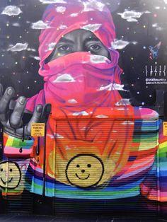 Bushwick le quartier Street Art de Brooklyn New York. Artist unknown.