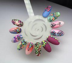 Zdobienia strukturowe #nail #nails #paznokcie #wzorki #zdobienia #ombre #ombrenails #wzornik #zdobieniastrukturowe #koraliki #handpainted #babyboomer #nailart #springnails #pastelnail #zdobieniafakturowe
