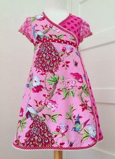 Wikkeljurkje {www.oliana.nl} Beautiful little girls dress