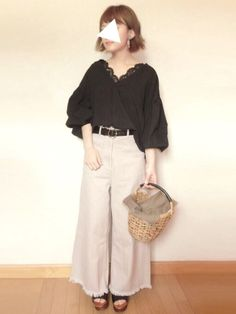 見てくださりありがとうございますm(_ _)m  いつも いいね,save,フォローもありがとうございます(;_;)✨ Japanese Style, Summer, Pants, How To Wear, Beauty, Fashion, Trouser Pants, Moda, Japan Style