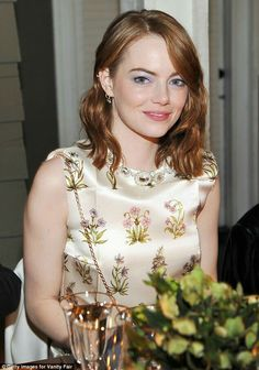 Emma stone at private party hosted by vanity fair for la la land