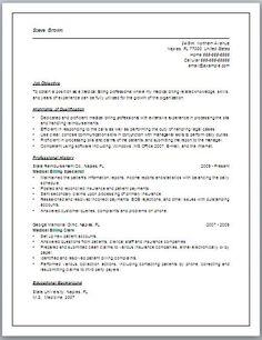 jennifer lowe resume medical billing resume career medical billing pinterest medical. Black Bedroom Furniture Sets. Home Design Ideas