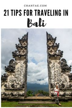 Tips for traveling in Bali, one of the world's best adventure destinations. You need to read this before you go!