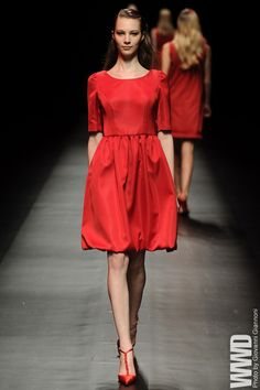 Shuzo Hayashi. #red, #dress, #fashion