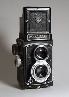 The Rolleicord was a popular medium-format twin lens reflex camera made by Franke & Heidecke (Rollei) between 1933 and 1976. It was a simpler, less expensive version of the high-end Rolleiflex TLR, aimed at amateur photographers who wanted a high-quality camera but could not afford the expensive Rolleiflex