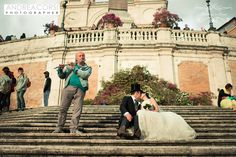Romantic...Sean and Claire. www.weddingsinrome.com