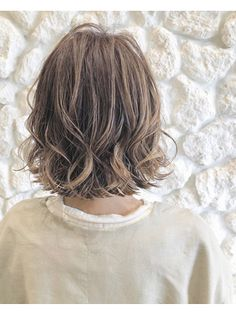 Medium Hair Cuts, Medium Hair Styles, Curly Hair Styles, Hair Arrange, Short Hair With Layers, Perm, About Hair, Bob Hairstyles, New Hair