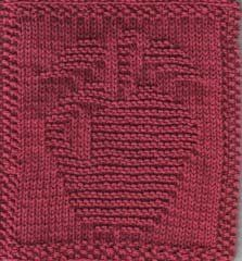 Free Knitting Pattern - Dishcloths & Washcloths : Apple Cloth