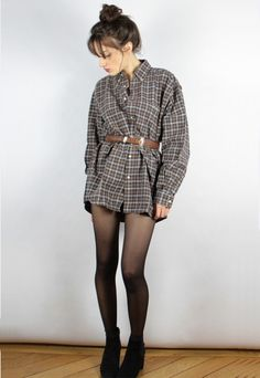 Vintage checked brown LACOSTE man shirt   Marcel Gracieuse   ASOS Marketplace
