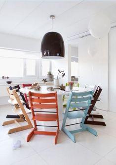 子どもと共に成長する椅子トリップ トラップにニューカラーが仲間入り|株式会社ストッケのプレスリリース