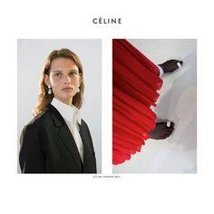 Campaign: Céline SS 2017 Photography by Juergen Teller.