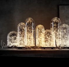 "Guirlande lumineuse ""blanc chaud"" by BAZAR and CO"