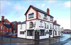 """While channel cruising the other day I came across a programme called """"The Repair Shop"""". A piece on The Ship Victory pub. British Pub, Great British, Chester Bars, Chester City Centre, Visit Holland, Holland And Barrett, New Bus, Old Pub, Pub Signs"""