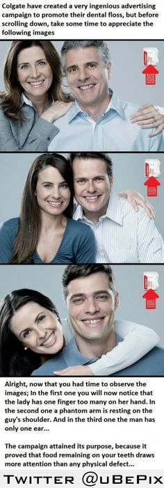 Colgate....This is amazing advertising!