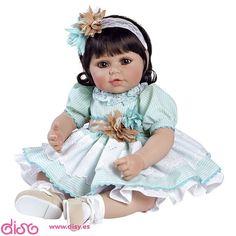 #muñecas #muñecasadora #adoradolls Muñecas Adora dolls - Muñeca Honey Bunch www.disy.es
