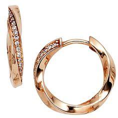 Dreambase Damen-Ohrschmuck Creole 30 Diamant-Brillanten 1... https://www.amazon.de/dp/B00EYH1DK6/?m=A37R2BYHN7XPNV