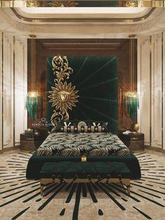MEDUSA on Behance Luxury Bedroom Sets, Modern Luxury Bedroom, Master Bedroom Interior, Luxury Bedroom Design, Bedroom Furniture Design, Home Room Design, Luxury Interior Design, Luxurious Bedrooms, Bed Headboard Design