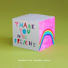 Cadeau pour professeur cadeau de noël Nursery Prof.
