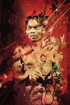 Bragga's portrait of Fela Kuti