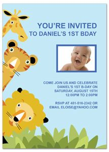 Toys Baby 1st Birthday Printable Invitation Template Edits easily