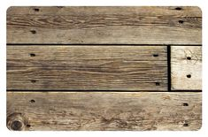 home accents rustic Home Accents FoFlor x 3 Rustic Wood Accent Mat, Brown