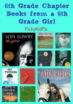 In 6th grade, I didn't have a lot of time to read because I was playing a lot of soccer. The only time I read was when I had to so these are the only books I read and I didn't finish all of them. C...