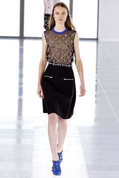preen fall '13  I just love this window pane plaid with flowers.  again, I would make it less serious, casual beach attire.