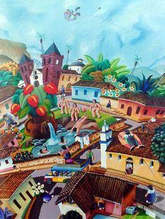 Sueño de Bolívar, de Hernando Nossa (pintor colombiano)