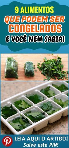 9 Dicas de alimentos que podem ser congelados e você nem sabia 9 Tips for foods that can be frozen and you didn& even know. You need to know these 9 foods that can be frozen and eaten weeks later. that can be frozen foods Freezer Meals, Going Vegan, Food Hacks, Vegan Vegetarian, Carne, Vegan Recipes, Good Food, Food And Drink, Veggies