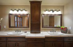 Crown Cabinets  Villa Knotty Alder Latte Brown Glaze