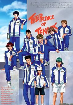 prince of tennis. I miss this show so badly