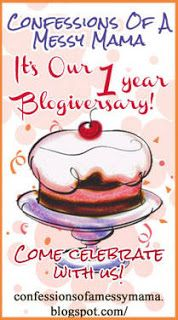 Mary's Cup of Tea - Confessions of a Messy Mama's anniversary!