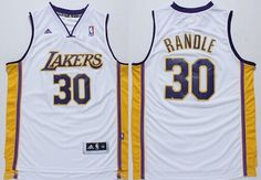 Los Angeles Lakers #30 Julius Randle Revolution 30 Swingman White Jersey