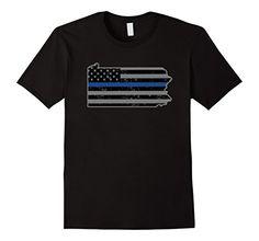 Pennsylvania Police & Law Enforcement Thin Blue Line Shirts - Male Small - Black Shoppzee Police & Law Enforcement Shirts http://www.amazon.com/dp/B016X95PQA/ref=cm_sw_r_pi_dp_9N9Swb0MR3MPJ