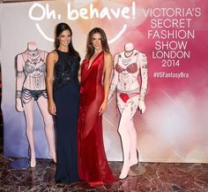 Adriana Lima And Alessandra Ambrosio Shine Brighter Than Their Bejeweled Fantasy Bras For Victoria's Secret!