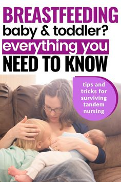 Breastfeeding Toddlers, Extended Breastfeeding, Breastfeeding Positions, Pregnant Nurse, How To Night Wean, Care During Pregnancy, How To Breastfeed Newborns, Advice For New Moms