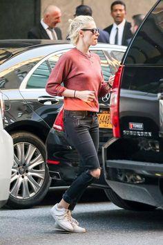 Kristen Stewart – Out in New York 2016 Kristen Stewart, Boyish Style, Her Style, Tomboy Style, Tomboy Fashion, Girl Fashion, Fashion Outfits, Kirsten Stewart Style, Girl Crushes