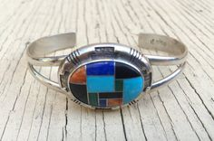 Hey, I found this really awesome Etsy listing at https://www.etsy.com/listing/231255708/zuni-multistone-cuff-bracelet-hand