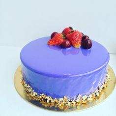 Лимонно-ванильный муссовый торт. Казеева Анастасия