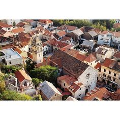 Roofs of Omiš in Croatia. Photo by Dmitri Korobtsov.